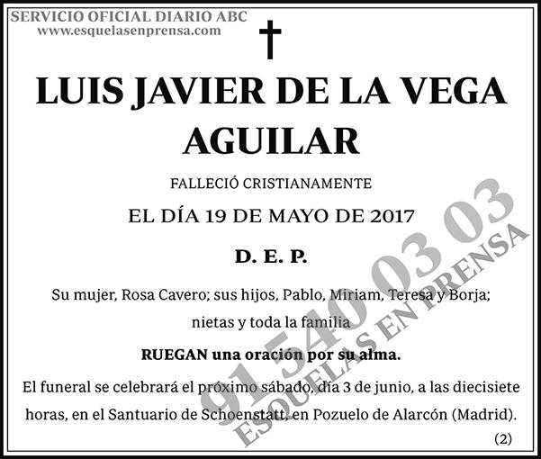 Luis Javier de la Vega Aguilar
